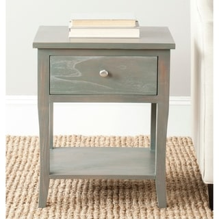 "Safavieh Coby Ash Grey End Table - 18.1"" x 15"" x 22.2"""