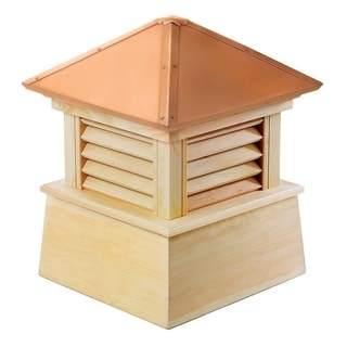 Manchester Wood Cupola with Copper Roof 84 x 105-inch by Good Directions