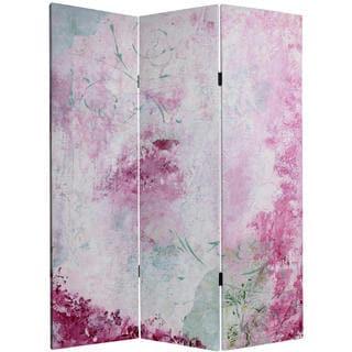 5-foot Tall Pink Boudoir Canvas Room Divider