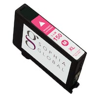 Sophia Global Compatible Magenta Ink Cartridge Replacement for Lexmark 150XL