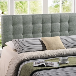 Lily Queen-size Tufted Linen Headboard