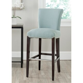 Safavieh 29.3-inch Seth Blue Bar Stool