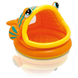Intex Lazy Fish Inflatable Baby Shade Pool
