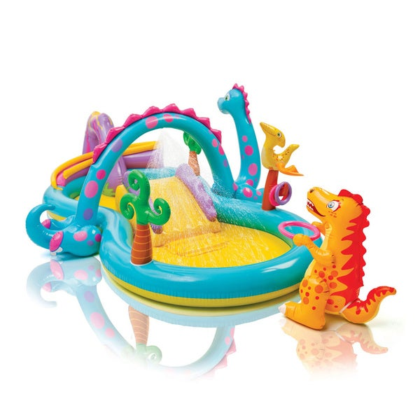 Intex Dinoland Play Center Inflatable Pool
