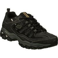 Men's Skechers After Burn Memory Fit Black/Gray