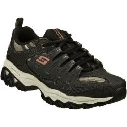 Men's Skechers After Burn Memory Fit Gray/Black