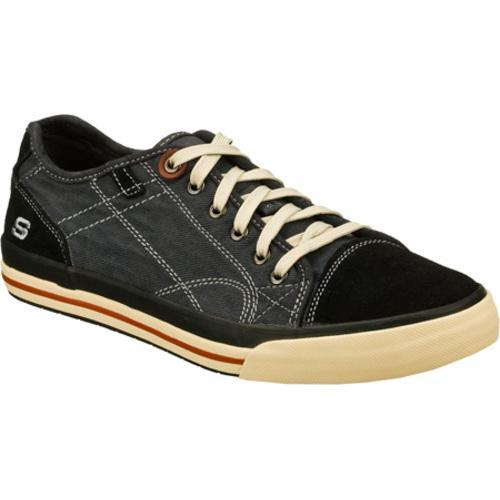 39d13881017d Shop Men s Skechers Relaxed Fit Diamondback Levon Black Natural - Free  Shipping Today - Overstock - 8679063