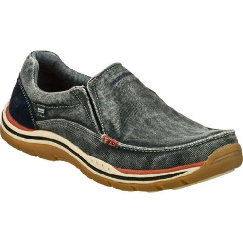 Men's Skechers Relaxed Fit Expected Avillo Navy/Navy - Free Shipping Today  - Overstock.com - 15934260