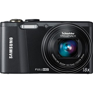 Samsung WB750 12.5MP Black Digital Camera
