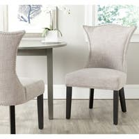 Safavieh En Vogue Dining Ciara Grey Dining Chairs (Set of 2)