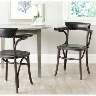 Safavieh Country Classic Dining Kenny Antique Black Arm Chair