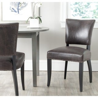 Safavieh Dining Desa Antique Brown Dining Chairs (Set of 2)