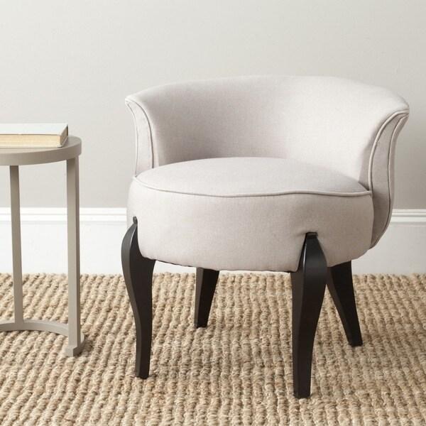 Safavieh Mora Taupe Vanity Chair