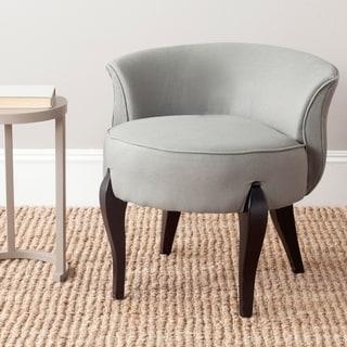 Shop Safavieh Mora Taupe Petite Vanity Chair 23 4 Quot X 24