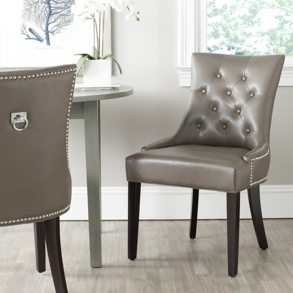 """Safavieh Dining Harlow Clay Ring Chair (Set of 2) - 22"""" x 25.6"""" x 36.4"""""""