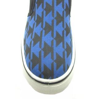 Blue Kids 'B-Argo' Canvas Sneakers
