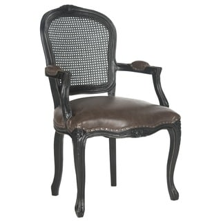 Safavieh Old World Dining Mckenna Antique Brown Arm Chair