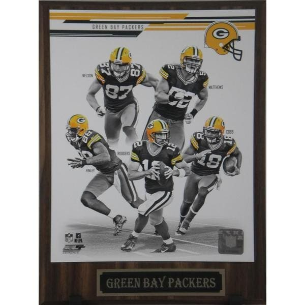 NFL 2013 Green Bay Packers Plaque