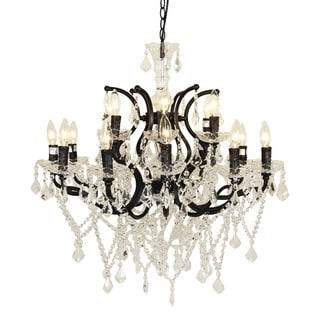 Hans Andersen Home Lillian Style Metal 18-lights Chandelier