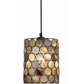 Cal Lighting Tiffany-style Round Mini Pendant Fixture