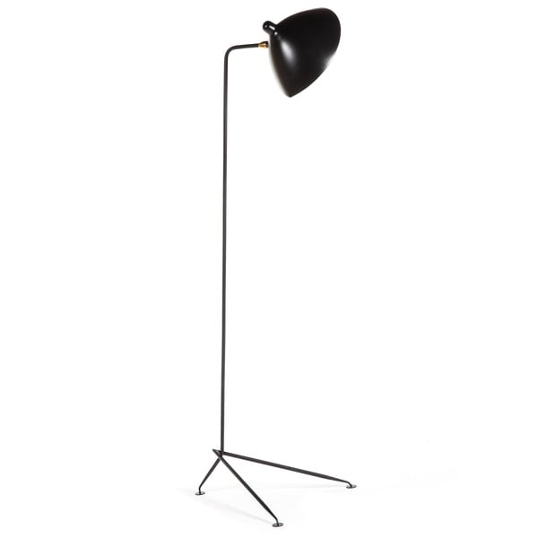 Hans Andersen Home Nicklas Style Black Floor Lamp
