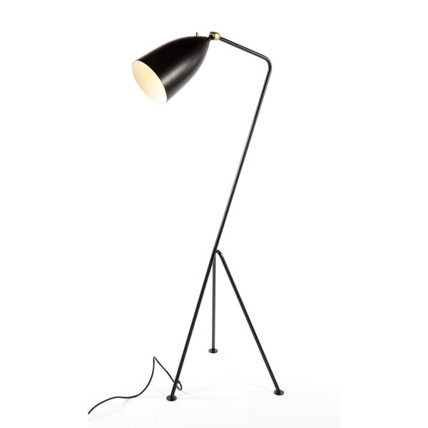 Hans Andersen Home Grasshopper Black Floor Lamp