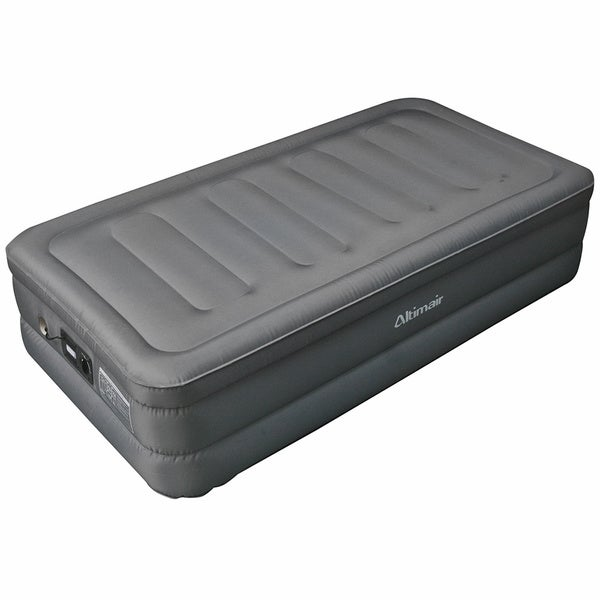 Shop Altimair Twin Size Raised Air Bed Laminated Nylon
