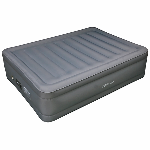Altimair Full Size Raised Air Bed Laminated Polyester
