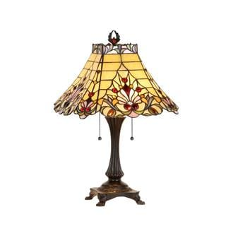 Chloe Tiffany-style Style Victorian Design 2-light Table Lamp