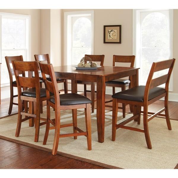 Awe Inspiring Shop Morgan Solid Mango Wood Dining Set By Greyson Living Machost Co Dining Chair Design Ideas Machostcouk