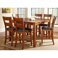 Morgan Solid Mango Wood Dining Set  by Greyson Living