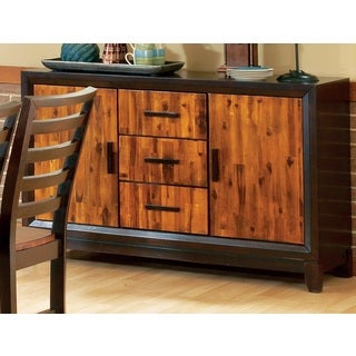 Gracewood Hollow Kola Acacia 2-door 3-drawer Side Board