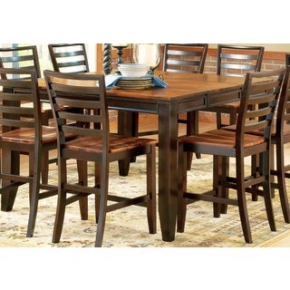 Greyson Living Acacia Two-tone Counter-height Dining Set
