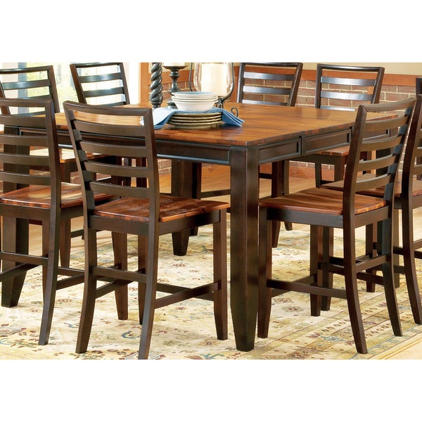 Acacia Two Tone Counter Height Dining Set By Greyson Living