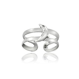 Mondevio Sterling Silver Dolphin Toe Ring