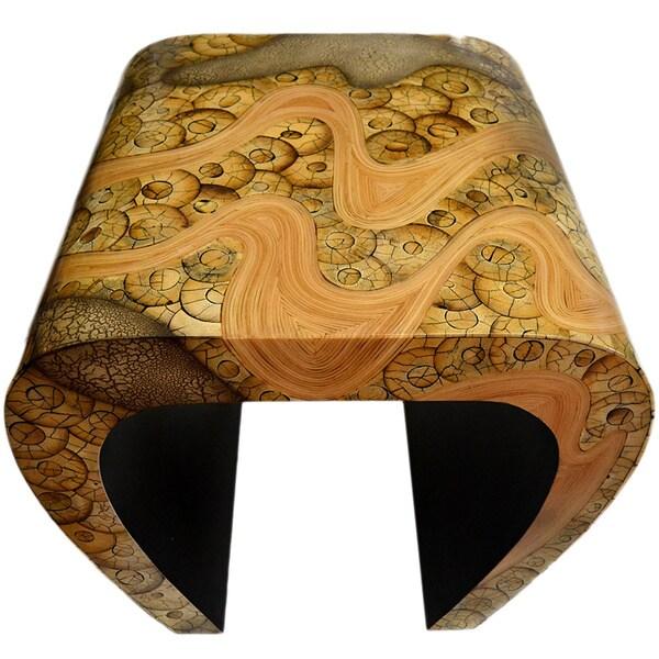 Exotic Catawba Bamboo Side Table
