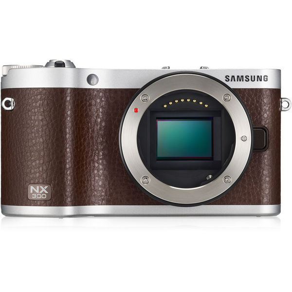 The NX300 Mirrorless Digital Camera Brown Body Only