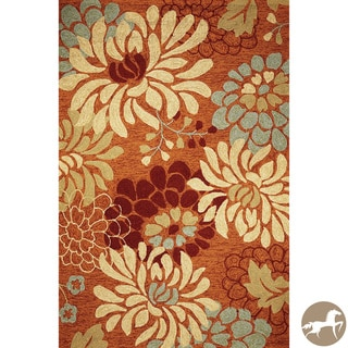Christopher Knight Home Hand-hooked Silhouette Saffron Area Rug (5' x 7'6)