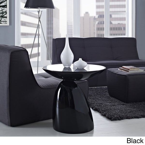 Shop Modern Flow Fiberglass Side Table - Free Shipping Today