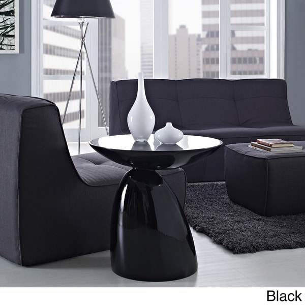 Modern flow fiberglass side table free shipping today
