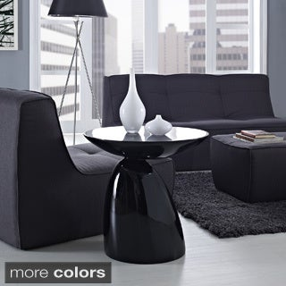Modern Flow Fiberglass Side Table