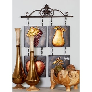 Beautifully Designed Metal Tile Wall Hanging