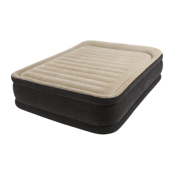 Sears Twin Size Mattress Intex Raised Queen Airbed Kit - Free Shipping Today - Overstock.com ...
