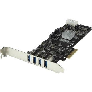 StarTech.com 4 Port PCI Express (PCIe) SuperSpeed USB 3.0 Card Adapte