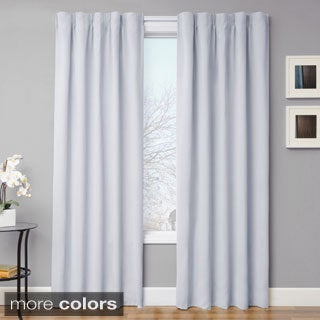 Softline Simple Drape Blackout Curtain Panel Pair