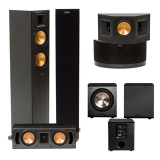 klipsch rf 42 ii home theater system free shipping today. Black Bedroom Furniture Sets. Home Design Ideas