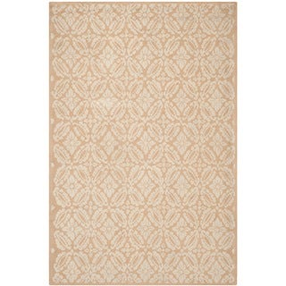 Safavieh Hand-hooked Chelsea Gold Wool Rug (5'3 x 8'3)
