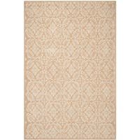 Safavieh Hand-hooked Chelsea Gold Wool Rug - 5'3 x 8'3