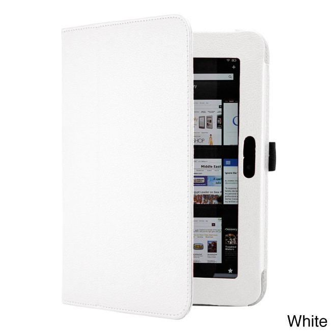 Gearonic 8.9-inch Magnetic Smart Cover Folio PU Leather C...