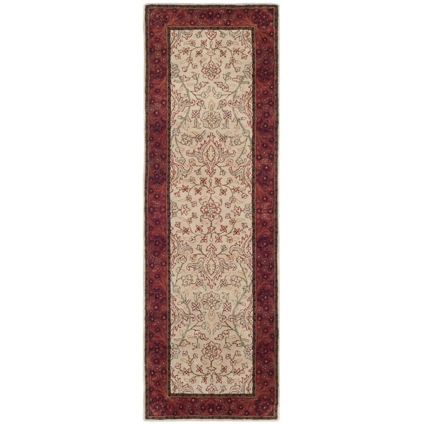 Shop Safavieh Handmade Persian Legend Ivory/ Rust Wool Rug